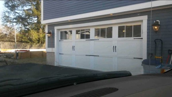Garage Door Installation in East Greenwich, RI. (1)
