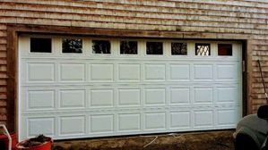 Garage installation in Newport, RI. (2)